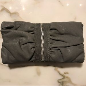 Handbags - Faux Leather Ruched wallet